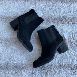 Sam Edelman 9 Black Suede Hanley Chelsea Boot